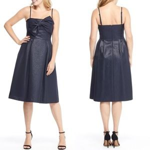 Gal Meets Glam Lucille Starry Night Shimmer Dress
